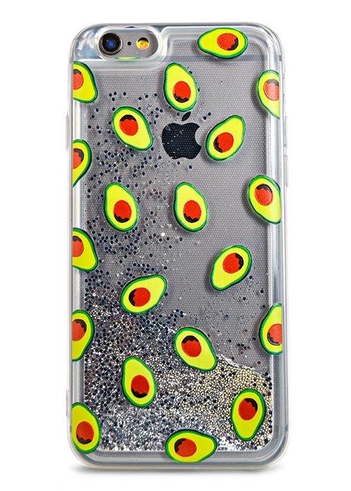 Чехол для iPhone 6/6S Lovely stream силикон Lux (Авокадо)
