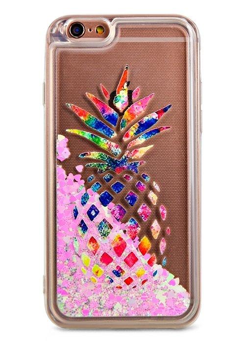 Чехол для iPhone 6/6S Lovely stream силикон Lux (Ананас)