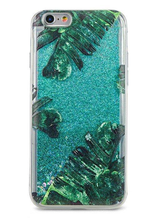 Чехол для iPhone 6/6S Lovely stream силикон Lux (Пальмовые листья)