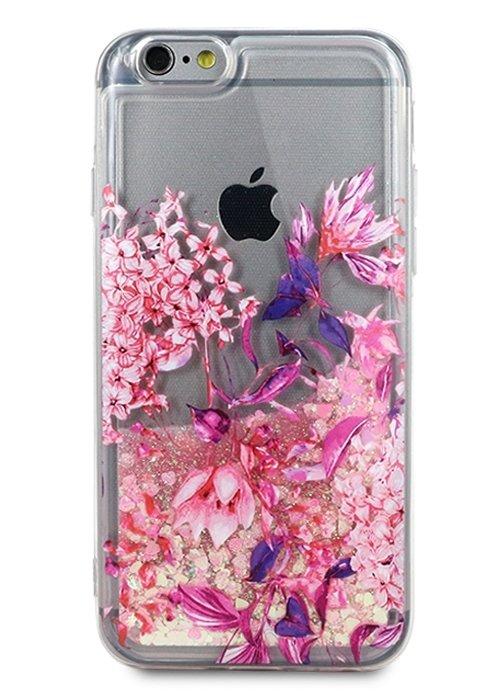 Чехол для iPhone 6/6S Lovely stream силикон Lux (Цветы)