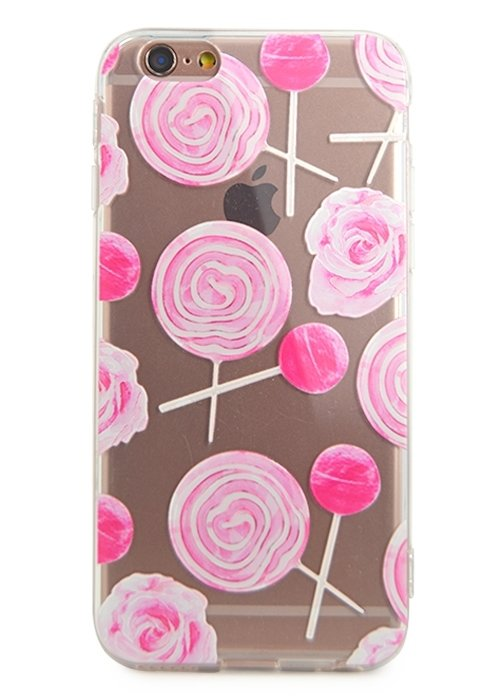 Чехол для iPhone 6/6S Lovely силикон (Candy)