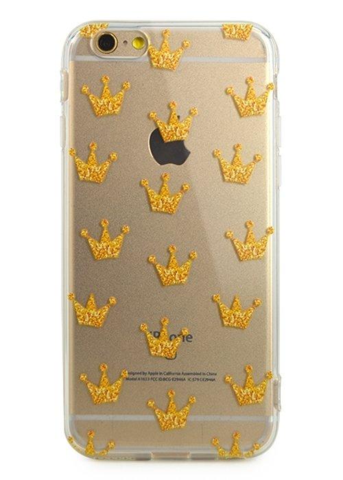 Чехол для iPhone 6/6S Lovely силикон (Crowns)