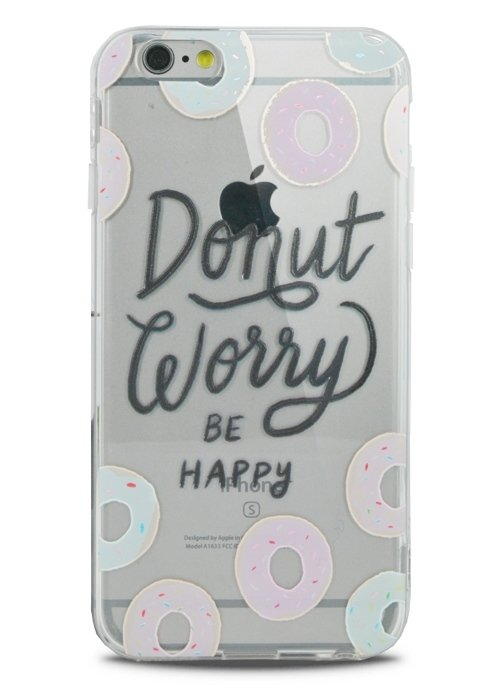 Чехол для iPhone 6/6S Lovely силикон (Donut)