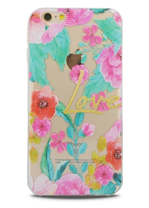 Чехол для iPhone 6/6S Lovely силикон (Love)