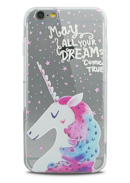 Чехол для iPhone 6/6S Lovely силикон (May all your dream)