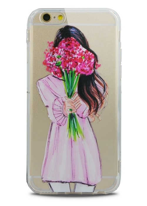 Чехол для iPhone 6/6S Lovely силикон (Present)