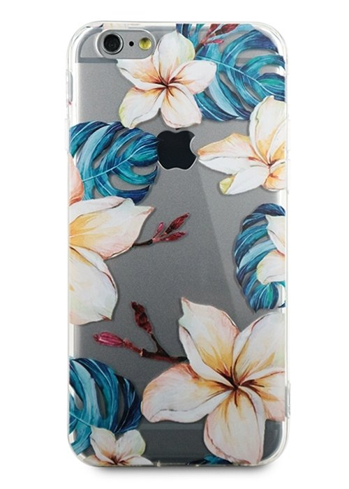 Чехол для iPhone 6/6S Lovely силикон (Лилии)