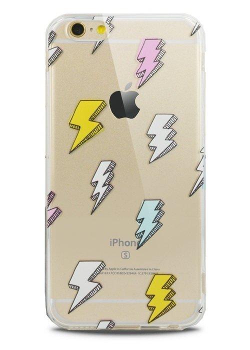 Чехол для iPhone 6/6S Lovely силикон (Молния)