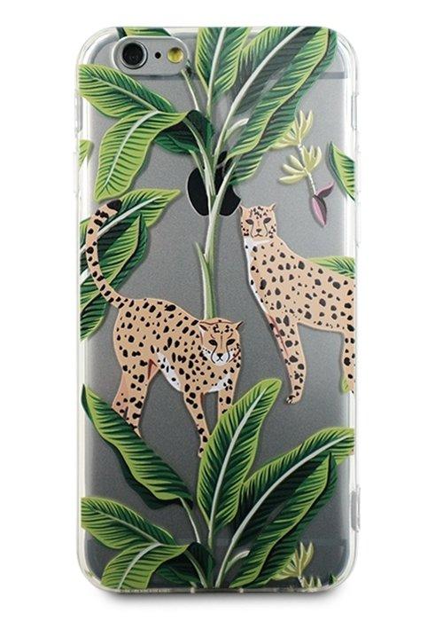 Чехол для iPhone 6/6S Lovely силикон (Ягуар)