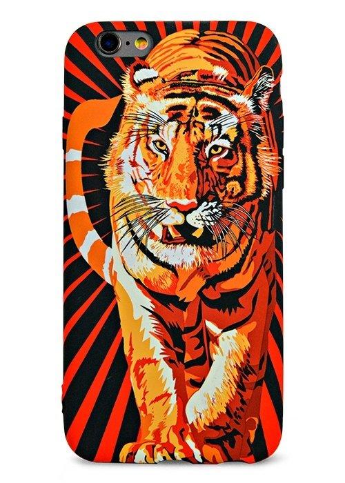 Чехол для iPhone 6/6S Luxo Animals Botb (Тигр)