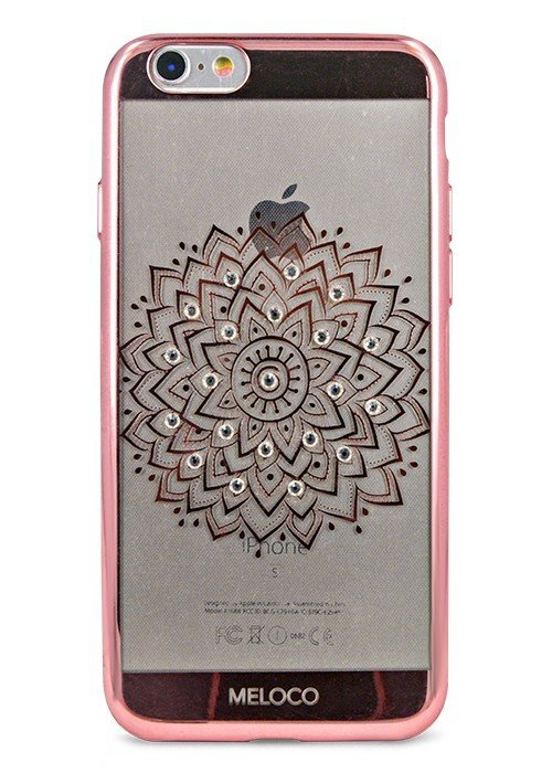Чехол для iPhone 6/6S Meloco Beck (Цветок Розовый)