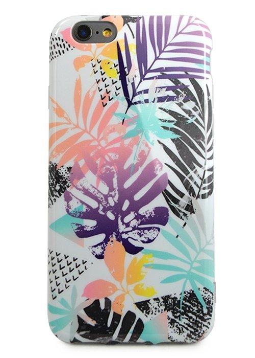 Чехол для iPhone 6/6S Modern (Пальмовые листья)
