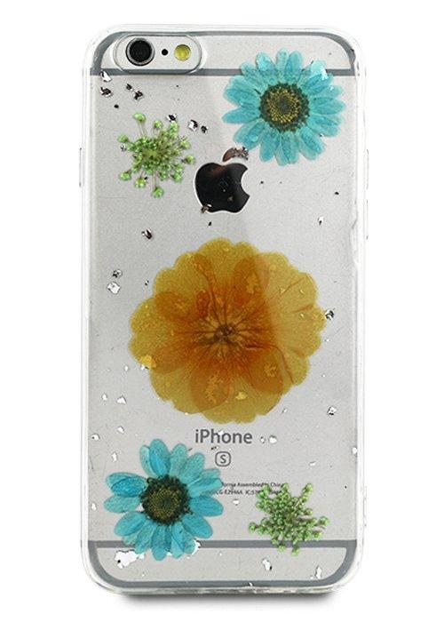 Чехол для iPhone 6/6S Nature Flowers (Желтый цветок)