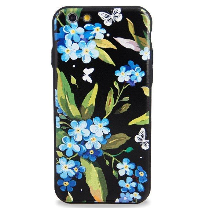 Чехол для iPhone 6/6S Ou Flowers (Незабудка)