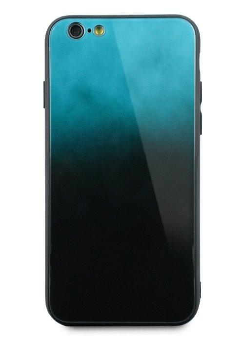 Чехол для iPhone 6/6S Perfect glass+силикон (Небо)