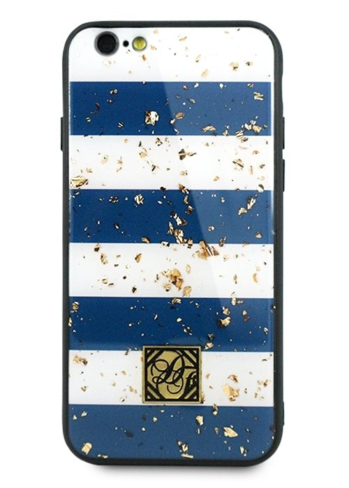 Чехол для iPhone 6/6S Pictures foil силикон (Полосы)
