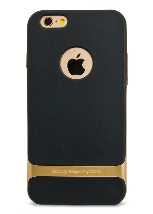 Чехол для iPhone 6/6S Rock Royce PC + силикон (Золото)