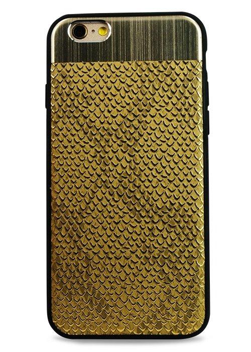 Чехол для iPhone 6/6S Scale (Золото)