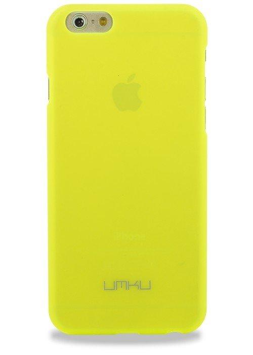 Чехол для iPhone 6/6S Umku soft touch (Салатовый)