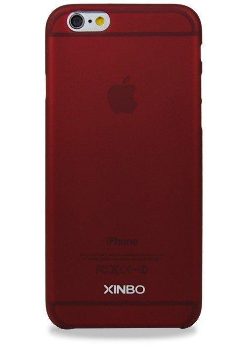 Чехол для iPhone 6/6S Xinbo Пластик Soft touch (Бордовый)
