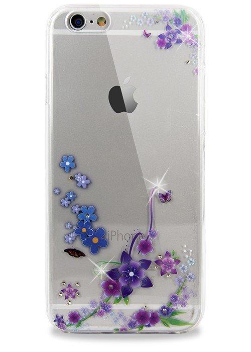 Чехол для iPhone 6/6S Весна (Колокольчик с бабочками)