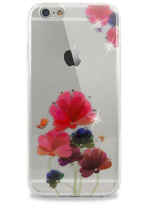 Чехол для iPhone 6/6S Весна (Полевые цветы)