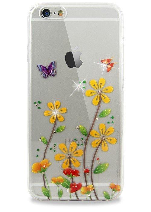 Чехол для iPhone 6/6S Весна (Ромашки)