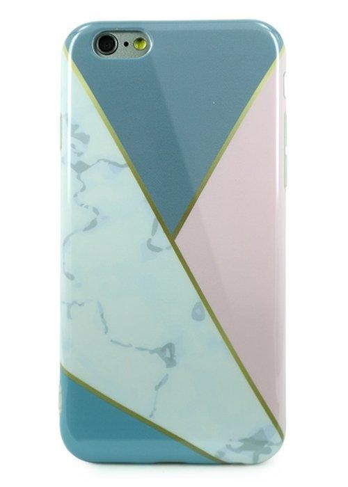 Чехол для iPhone 6/6S Геометрия силикон (Треугольник)