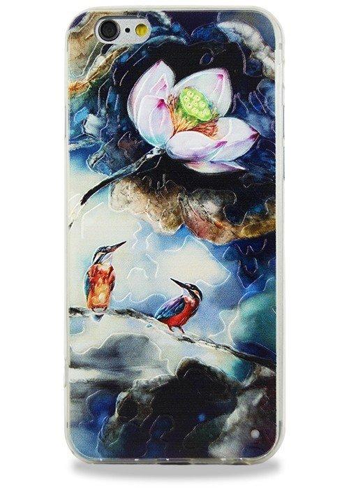 Чехол для iPhone 6/6S Гуашь (Калибри)