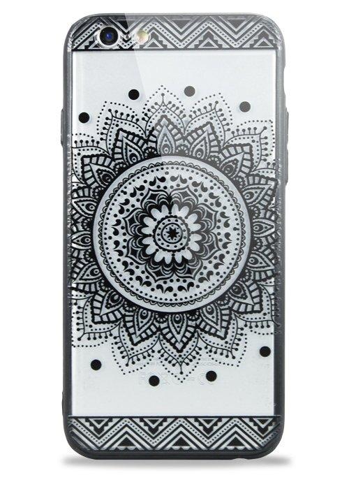 Чехол для iPhone 6/6S Знамение (Мандала Узор)