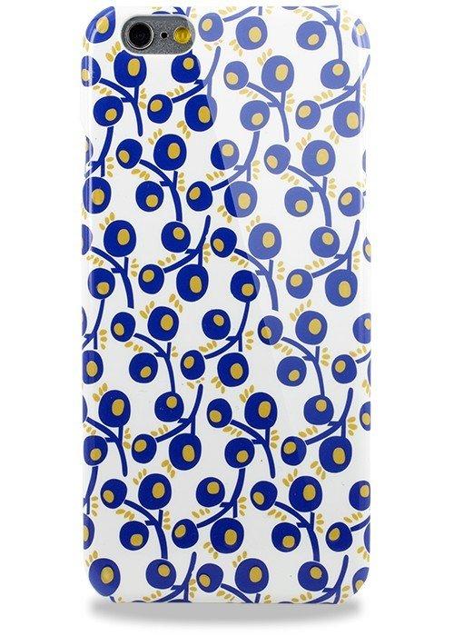 Чехол для iPhone 6/6S Карусель Светящиеся (Синяя ягода)
