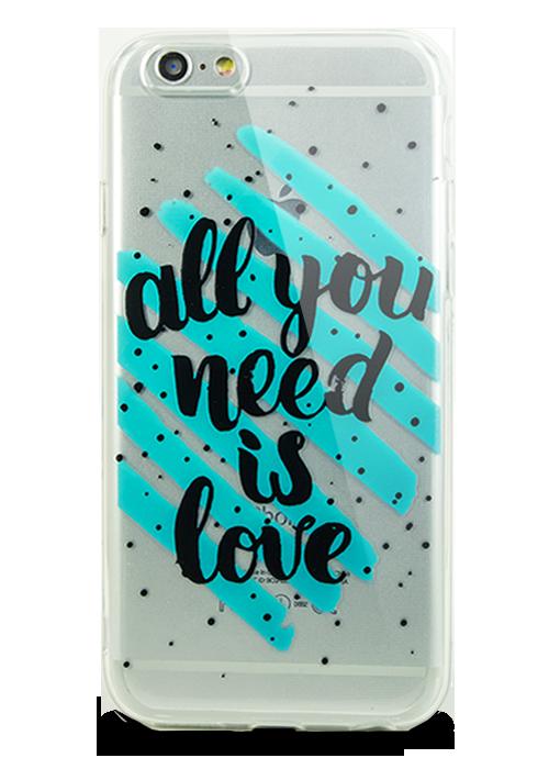 Чехол для iPhone 6/6S Молодость (All you need is love)