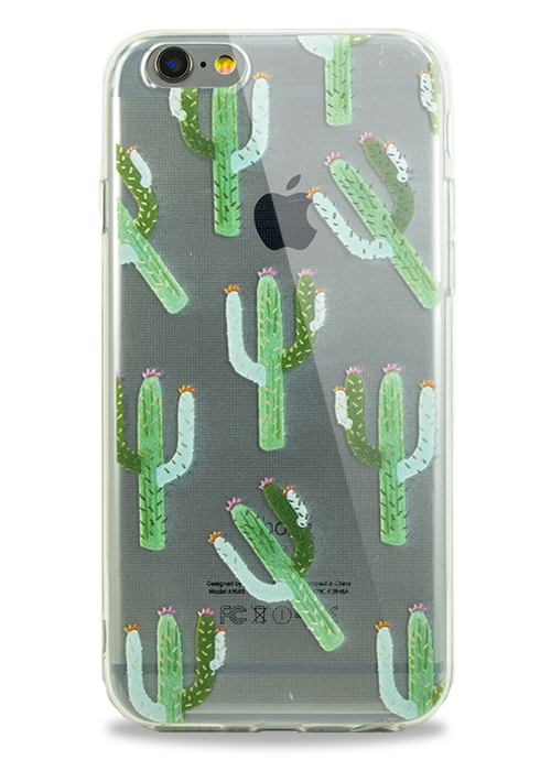 Чехол для iPhone 6/6S Молодость (Opuntia cactus)