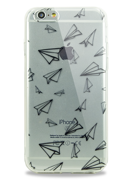 Чехол для iPhone 6/6S Молодость (Paper airplane)
