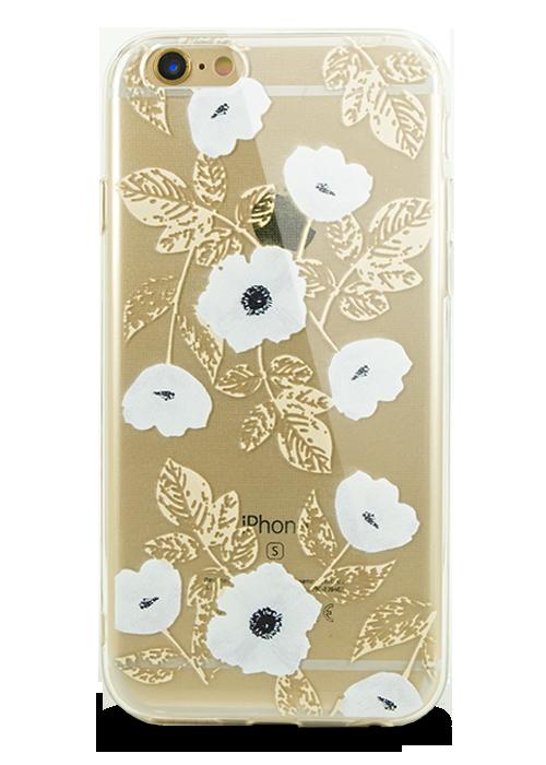 Чехол для iPhone 6/6S Молодость (Белый мак)