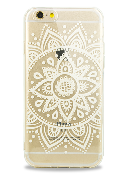 Чехол для iPhone 6/6S Молодость (Белый цветок )