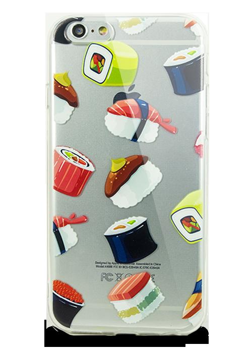 Чехол для iPhone 6/6S Молодость (Суши )
