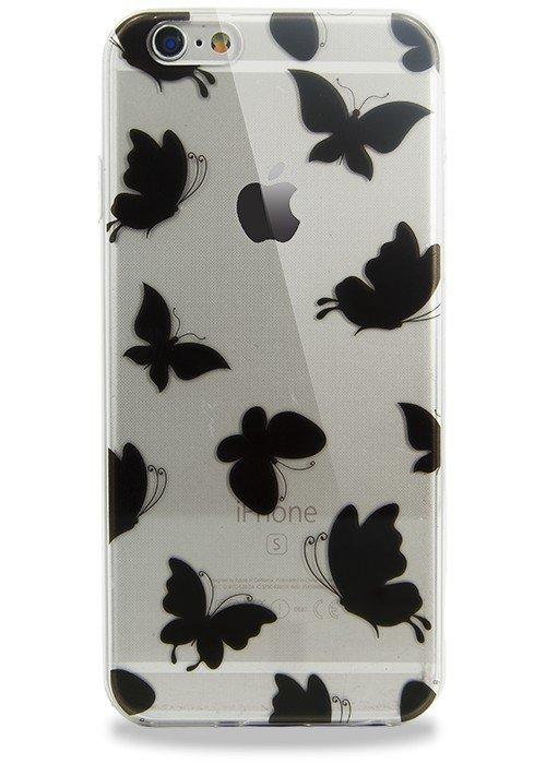 Чехол для iPhone 6/6S Поле (Бабочки)