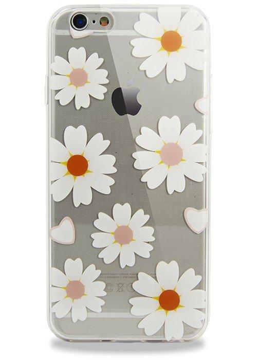 Чехол для iPhone 6/6S Поле (Ромашки)