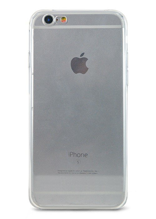 Чехол для iPhone 6/6S Ультратонкий силикон Premium (Прозрачный)
