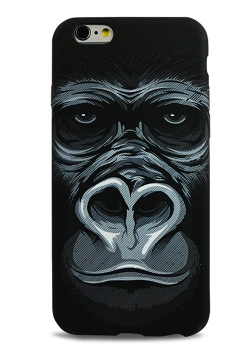 Чехол для iPhone 6+/6S+ Animals (Горилла)