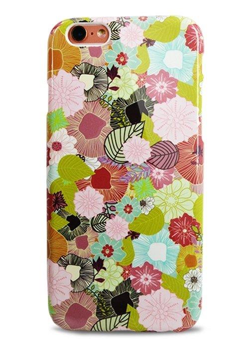 Чехол для iPhone 6+/6S+ Aru Flowers (Цветочный ковер)