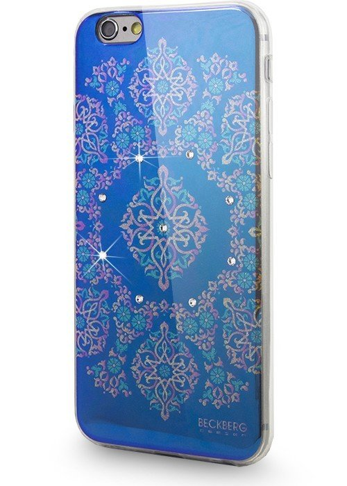 Чехол для iPhone 6+/6S+ BeckBerg Golden (Изумруд)