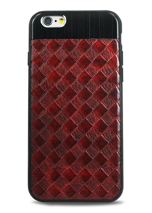 Чехол для iPhone 6+/6S+ Celtic (Клетка (красный))