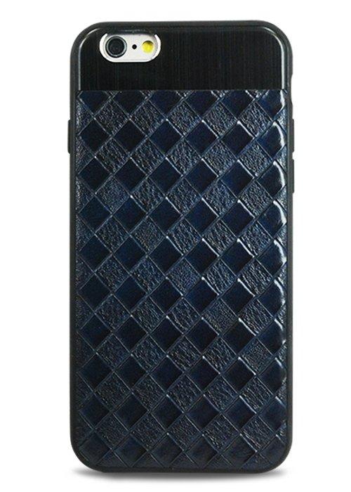 Чехол для iPhone 6+/6S+ Celtic (Клетка (синий))