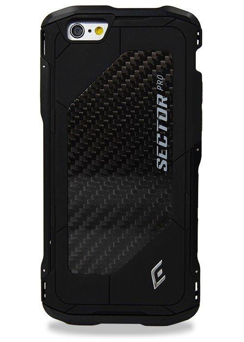 Чехол для iPhone 6+/6S+ Element Sector Pro (Черный)