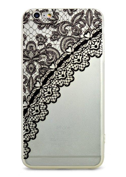 Чехол для iPhone 6+/6S+ Exotic (Кружево)
