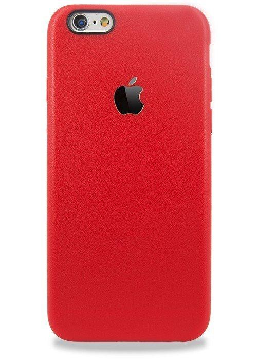 Чехол для iPhone 6+/6S+ Golden Apple (Красный)
