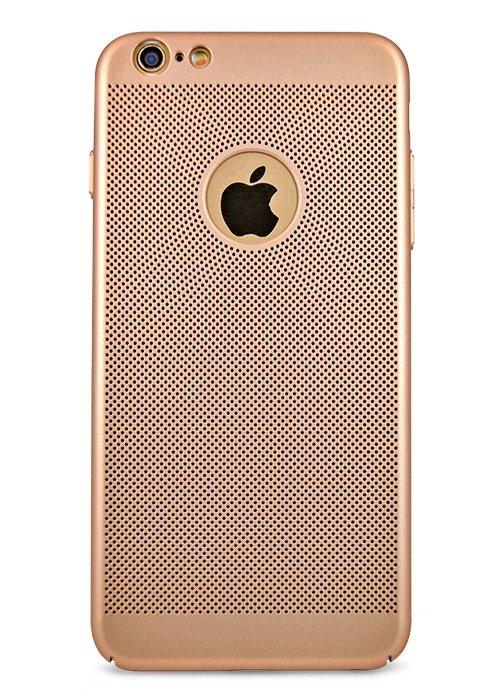 Чехол для iPhone 6+/6S+ Grid (Золото)