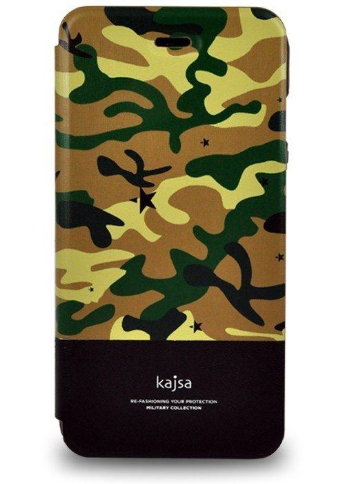 Чехол для iPhone 6+/6S+ Kajsa книжка (Хаки)